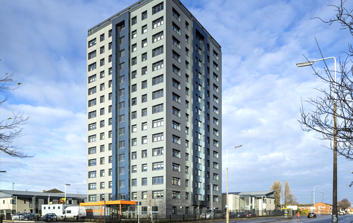 Marwood Towers, Everton<br><small>81 homes</small>