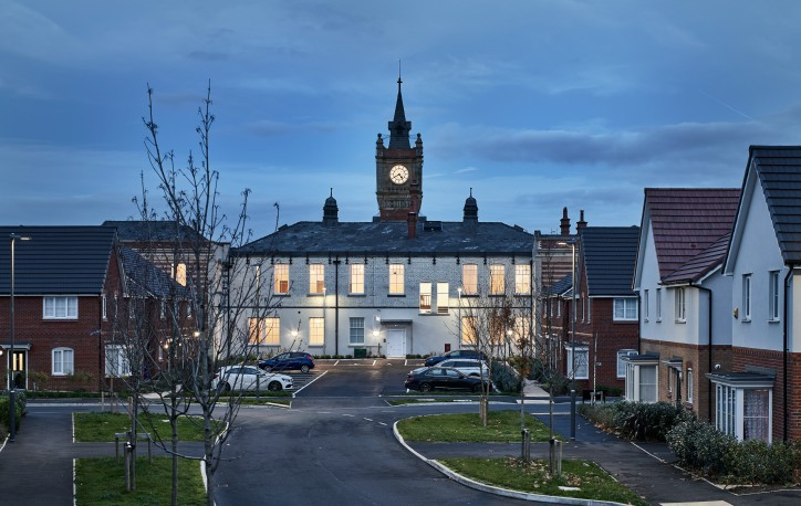 Ogden's Clock Tower, Everton<br><small>19 homes</small>